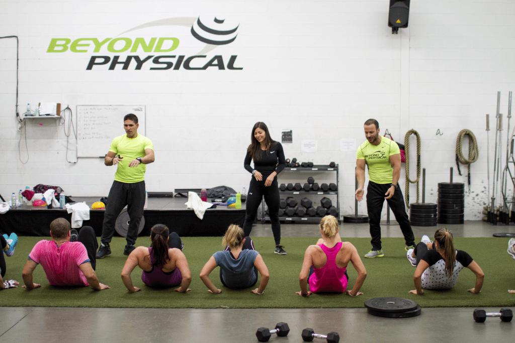 Saint léonard group fitness montreal fitness classes beyond physical